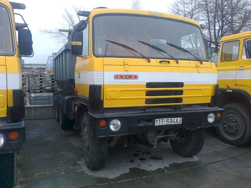 Sklápač TATRA T 815 S1 26 208 6×6